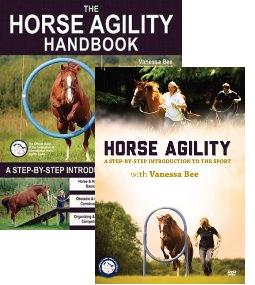 Horse Agility Book & DVD Pack