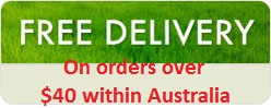 Free delivery within Australia for orders over $40